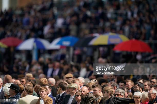 Good crowd at Ascot Racecourse on May 11, 2019 in Ascot, England.