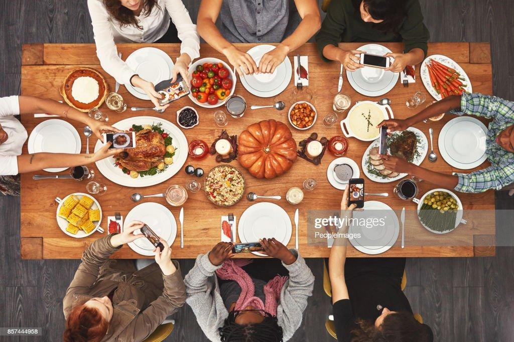 Good food makes for good memories : Stock Photo