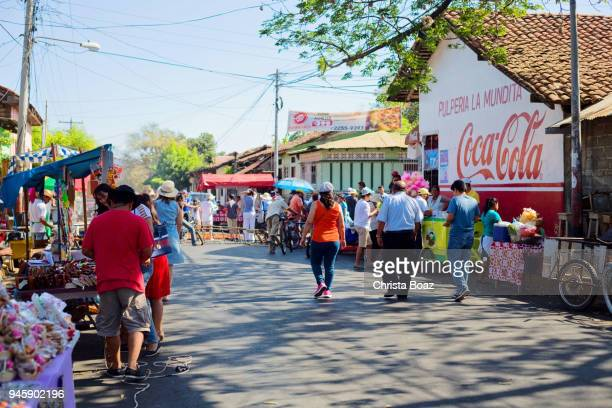 goede vrijdag viering in leon - nicaragua stockfoto's en -beelden
