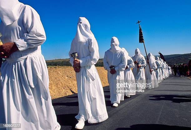 Good Friday Procession in Zamora.