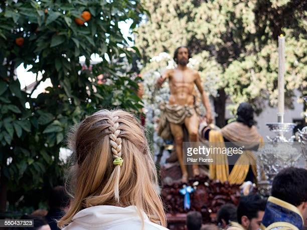 good friday processions - cabalgata fotografías e imágenes de stock