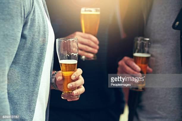 Good friends, good beer