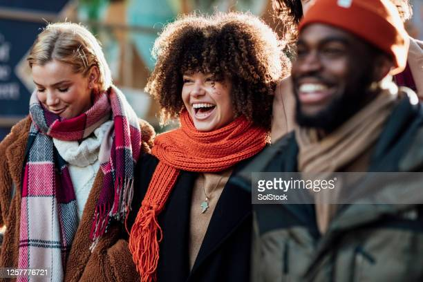 good friends laughing - design stock pictures, royalty-free photos & images