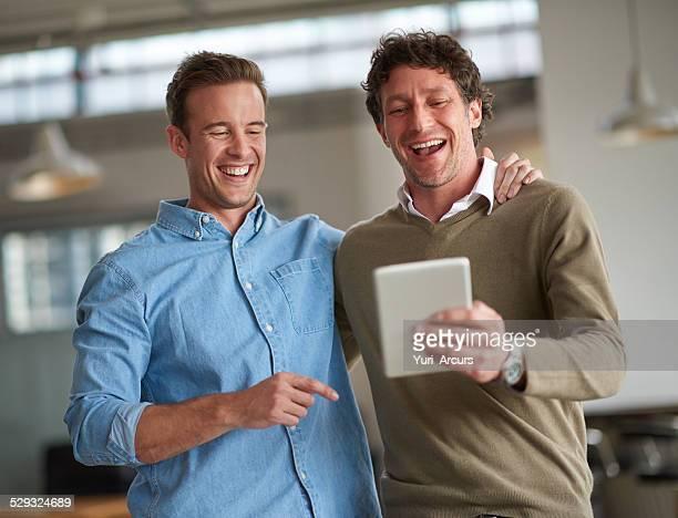 Gute Freundschaft ist angenehm Büroräume
