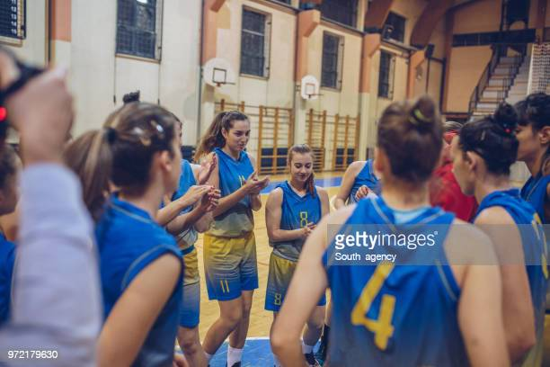 good game - women's basketball stock pictures, royalty-free photos & images