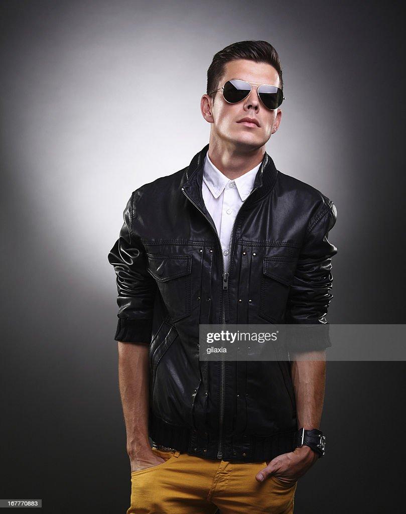 Good looking man. : Stock Photo