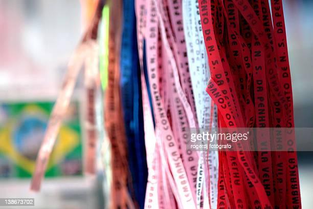 Good luck ribbons