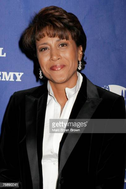 Good Morning America Anchor Robin Roberts at the Trustees Award and Management Hall of Fame Emmy Ceremony