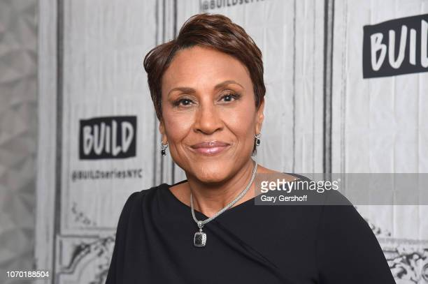 Good Morning America anchor Robin Roberts visits Build Series to discuss the series 'Thriver Thursday' at Build Studio on November 20 2018 in New...
