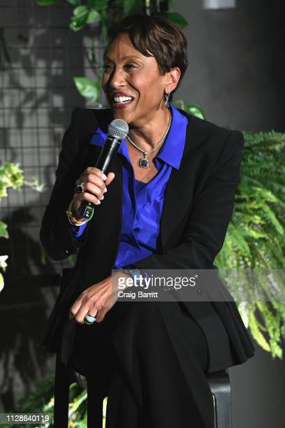 Good Morning America CoHost Robin Roberts speaks onstage at The Big Picture panel during The Cut's How I Get It Done at 1 Hotel Brooklyn Bridge on...