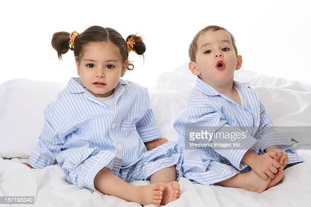 Guten Morgen und erwachen Sie zum mommy!