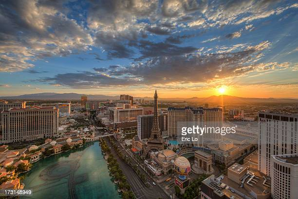 good morning las vegas - las vegas stock pictures, royalty-free photos & images