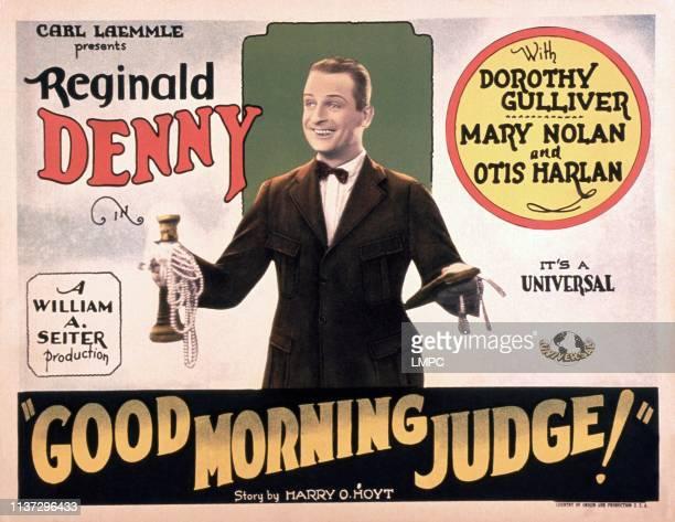 Good Morning poster JUDGE Reginald Denny 1928