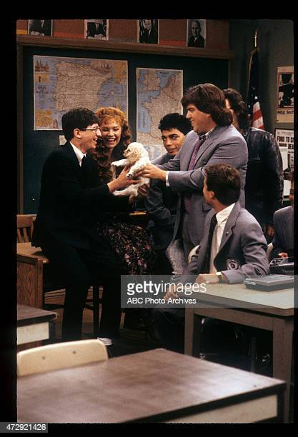 CLASS 'Good Mourning' Airdate November 22 1989 DAN FRISCHMANKHRYSTYNE HAJEMICHAEL DELORENZODAN SCHNEIDERTONY O