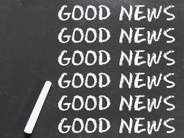 Good News type On Blackboard