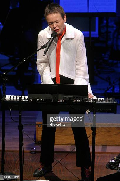 'Good Night Alice' at Lincoln Center's Alice Tully Hall on Monday night April 30 2007This imageLaurie Anderson performing 'Only an Expert'