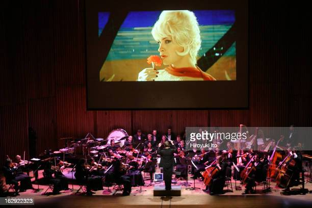 Good Night Alice at Lincoln Center's Alice Tully Hall on Monday night April 30 2007This imageDavid Robertson conducts the Juilliard Orchestra in...