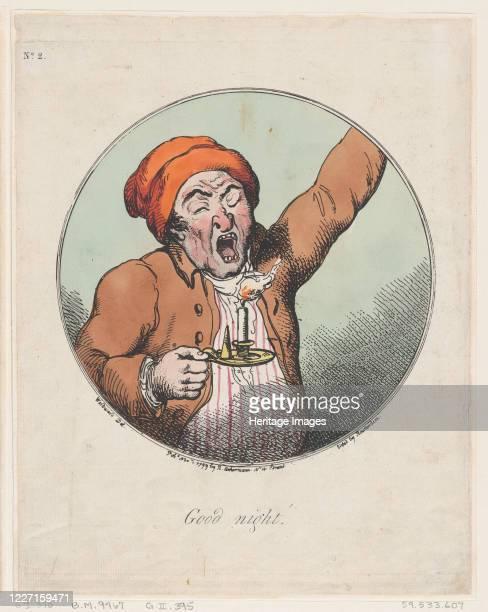 Good Night November 1 1799 Artist Thomas Rowlandson
