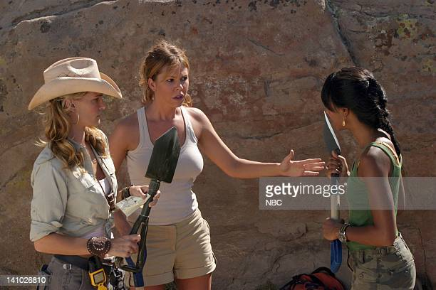 LAS VEGAS Good Run of Bad Luck Episode 5 Pictured Molly Sims as Delinda Deline Nikki Cox as Mary Connell Marsha Thomason as Nessa Holt Photo By Scott...