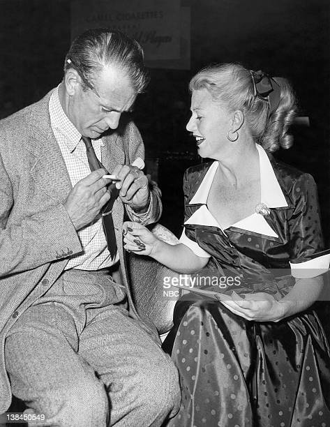 THEATRE Good Sam Episode 1126 Pictured Gary Cooper as Samuel R Clayton Ginger Rogers