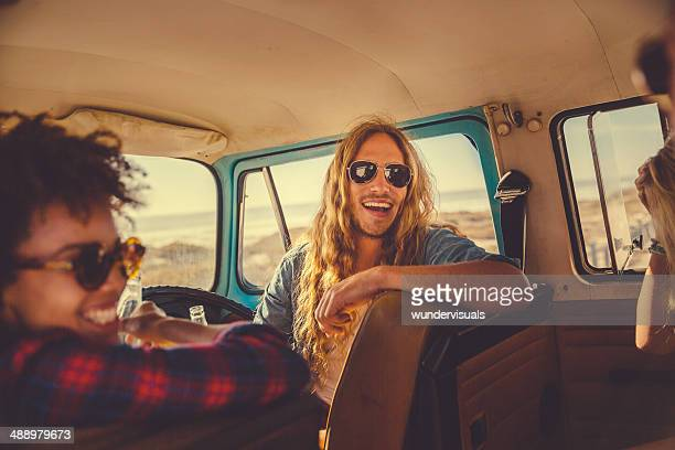 Good time in camper van