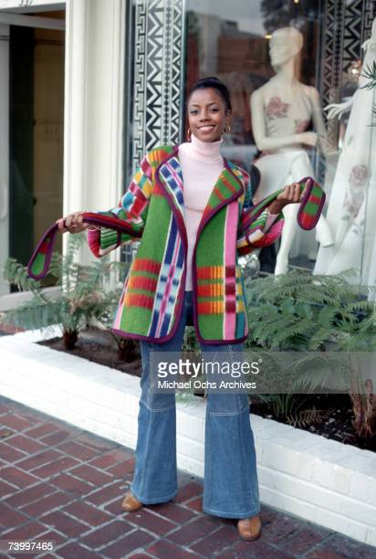 'Good Times' star BernNadette Stanis poses for a portrait in February 1975 in Los Angeles California