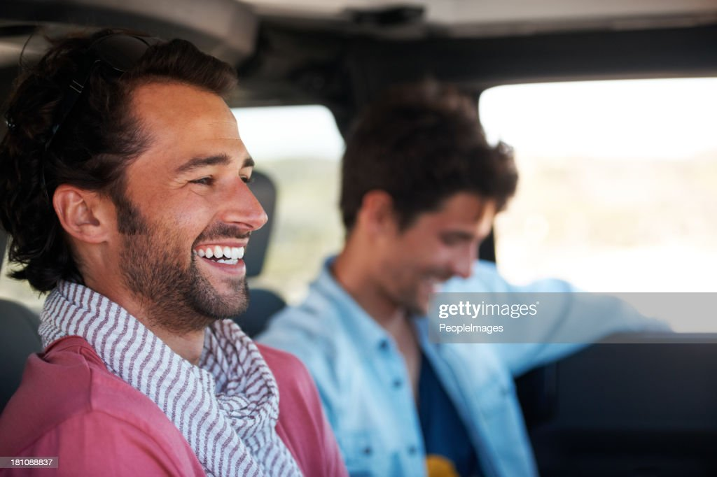 Good times with a great friend : Stock Photo