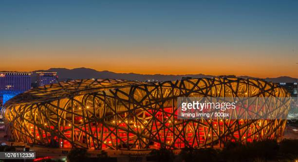 good view - stadio olimpico nazionale foto e immagini stock