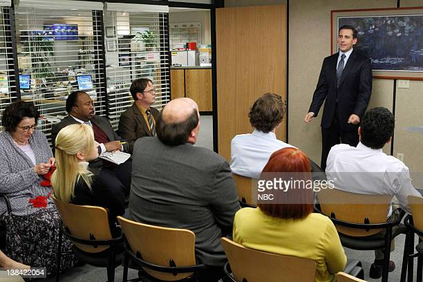 """Goodbye Michale, Part 2"""" Episode 722 -- Pictured: Steve Carell as Michael Scott"""
