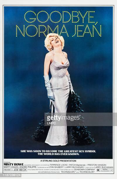 Goodbye poster NORMA JEAN Misty Rowe on poster art 1976