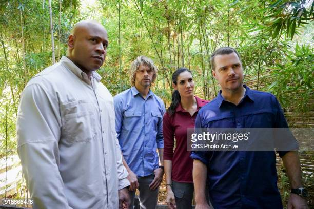 'Goodbye Vietnam' Pictured LL COOL J Eric Christian Olsen Daniela Ruah and Chris O'Donnell Callen Sam Kensi and Deeks join Hetty'•s team from the...