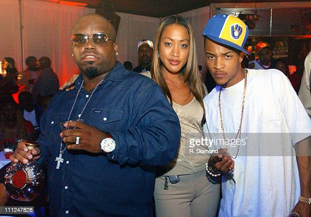 Goodies Mobb's CeeLo Hannah Kang with Remy Martin and TI