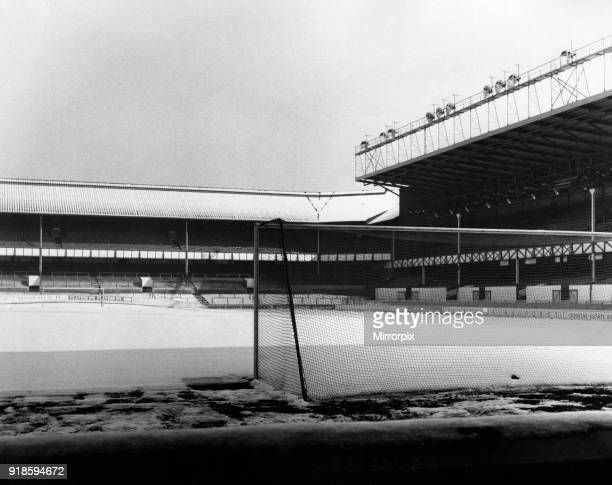 Goodison Park, home to Everton FC, the football stadium is located in Walton, Liverpool, England, 16th February 1973.