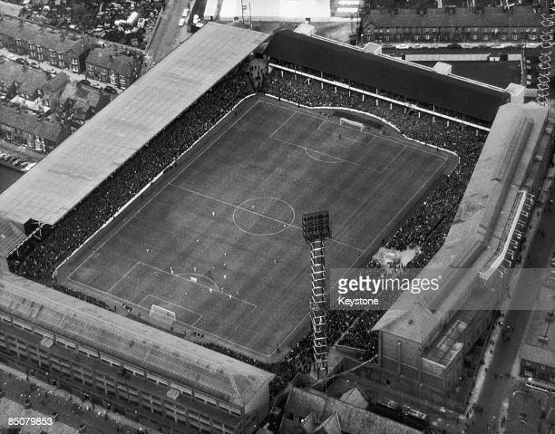 Goodison Park, the home ground of Everton F.C. In Liverpool, 13th July 1966.