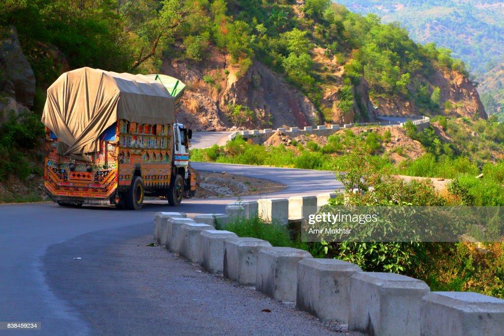 Goods Transportation Truck : Stock-Foto