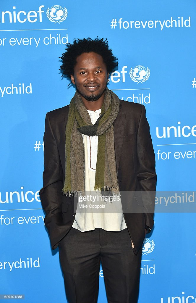 Goodwill Ambassador Ishmael Beah attends UNICEF's 70th Anniversary Event at United Nations Headquarters on December 12, 2016 in New York City.