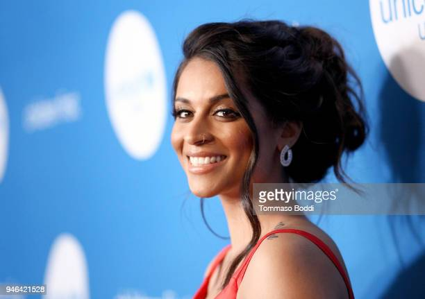 Goodwill Ambassador Lilly Singh attends the Seventh Biennial UNICEF Ball Los Angeles on April 14 2018 in Beverly Hills California