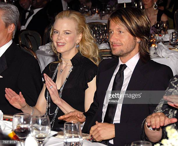 Goodwill Ambassador Nicole Kidman and Keith Urban play drums led by Drum Cafe NY during UNIFEM's 30th Anniversary Celebration hosted by Kidman in the...
