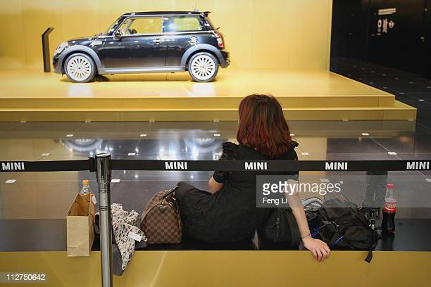 GoodWood Car is displayed during the media day of the Shanghai International Automobile Industry Exhibition at Shanghai New International Expo Center...