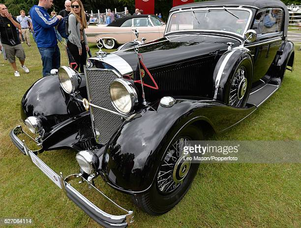 Goodwood Festival of Speed Goodwood House UK 1933 Mercedes Benz 380K roadster