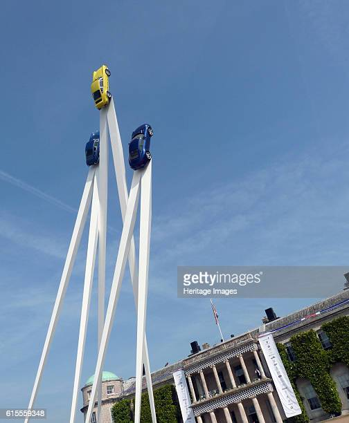 Goodwood Festival of Speed Sculpture in front of Goodwood House 2013 Artist Unknown
