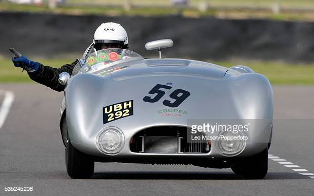 Goodwood Revival Meeting Goodwood Motor Circuit UK Freddie March Memorial Trophy Derek Hood driving 1954 CooperJaguar T33