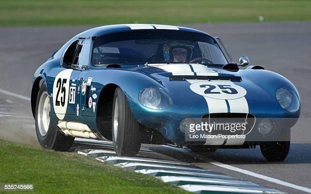 Goodwood Revival Meeting Goodwood Motor Circuit UK RAC TT Celebration Kenny Brack driving a 1964 Shelby American Cobra Daytona Coupe