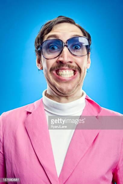 Goofy Pastel Retro Man