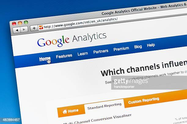 google analytics main page - google stock pictures, royalty-free photos & images
