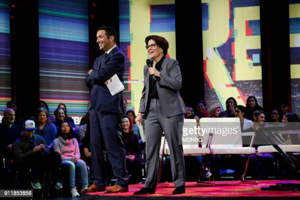MSNBC REVOLUTION 'Google and YouTube Changing the World' Pictured Ari Melber Anchor of The Beat and MSNBC Chief Legal Correspondent Kara Swisher...