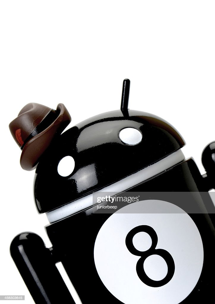 Google Android Phone Character Stock Photo Getty Images