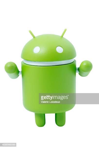 Mascotte de Robot Android SUR Google