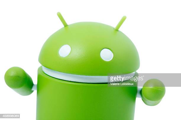 google android robot mascot - google stock photos and pictures