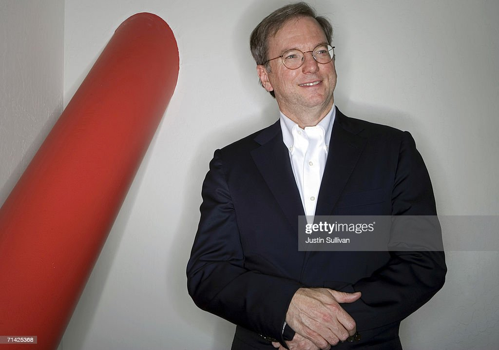 Portraits Of Google CEO Eric Schmidt